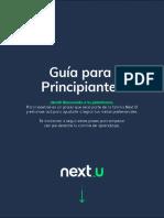 Guía académica de acompañamiento NextU
