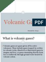 Volcanic Gases