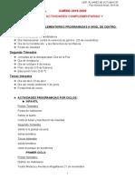 Organización modelo educativo