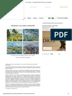 Paul Cézanne - La Montaña Sainte-Victoire