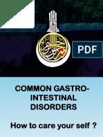 28 March 2010-Common Gastrointestinal Disorders-Mahmoud El Ghazali