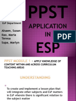 ESP PPST