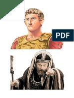 Los personajes en la epoca de Jesús