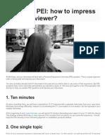 McKinsey PEI_ how to impress your interviewer_ – IGotAnOffer