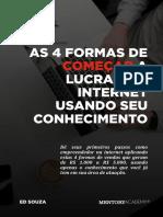 V1_4 FORMAS DE COMEÇAR A LUCRAR NA INTERNET.pdf