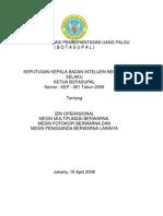 2006 KEP BIN 061 Izin Operasional Mesin Multifungsi Berwarna