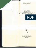 1975 Jakobson_ Roman - Ensayos de lingüística general