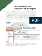Configuracion de Fortinet