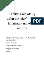 Cambios sociales y culturales de Chile en la primera mitad del siglo xx.docx