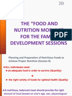 fOOD AND NUTRITION SESSION 8