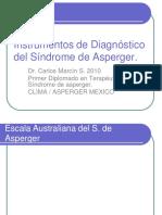 INSTRUMENTOS DE DIAGNÓSTICO -ASPERGER