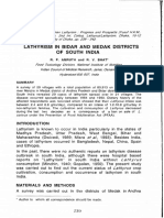 LATHYRISM in BIDAR and MEDAK DISTRICTS of SOUTH INDIA - Pages From eBook - Lathyrus Sativus and Human Lathyrism. Progress and Prospects 1995