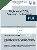 Registro en USGS y Adquisición de Imágenes