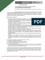 Comunicado Precisiones de contrato 2020