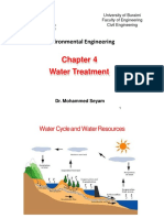 Ch.4.1 Enviromental Engineering - Water Treatment.pptx