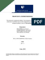 FORMATO INICIAL DE LA PROPUESTA EMPRENDEDORA
