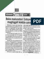 Abante Tonite, Jan. 28, 2020, Baka malusutan Gobyerno dapat maghigpit kontra coronavirus.pdf