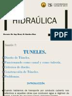 Sesión-7 - Hidraulica (TUNELES - OTROS).pptx