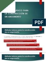 Construcción de argumentos e identificación de falacias