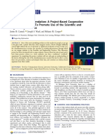 A Glowing Recommendation A Project-Based Cooperative Laboratory Activity To Promote Use of the Scientific and Engineering Practices