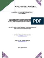 Calculo de Enlaces MO en Oleoductos