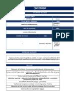 Perfil de Excel - Mecánico