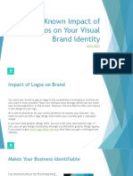 5-Must-Known Impact of Logos on Your Visual Brand Identity