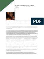 APETEBI IKOFA - CONSAGRAÇÃO DA MULHER EM IFA