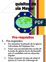 Requisitos de Guía Mayor 2019