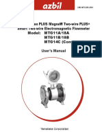 Azbil Flow Meter Manual
