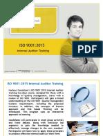 ISO 9001 Internal Auditor Training Brochure