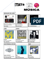 Selecció de novetats musicals novembre-desembre 2010