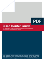 Cisco Router Product Guide