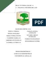 LAPORAN TUTORIAL BLOK 3.4 SKENARIO 1 KELOMPOK 1OB