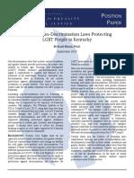 CESJ Position Paper 2 - LGBT - Riggle.pdf