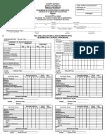 Form 137 Blank