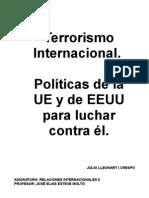 Lucha de La UE y EEUU contra el Terrorismo Internacional