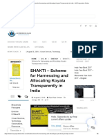 SHAKTI - Scheme for Harnessing and Allocating Koyala Transparently in India • IAS Preparation Online