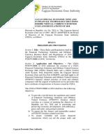 CEZA Regulations_2018