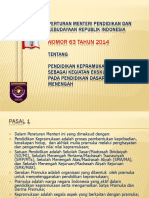 PERMENDIKBUD NO 63 TAHUN 2014.pptx
