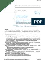 DTU 13.11 - fondations superficielles - cahier des clauses spéciales