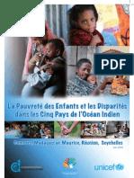 La Pauvreté des Enfants et les Disparités dans les Cinq Pays de l'Océan Indien