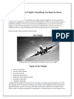 Air Freight Sea Freight Everything You Need to Know