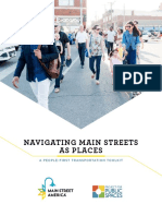 NAVIGATING MAIN STREETS AS PLACES