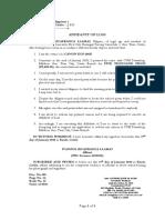 Affidavit of Loss - Lavina aksakjs