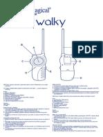 Manual walkies Imaginarium