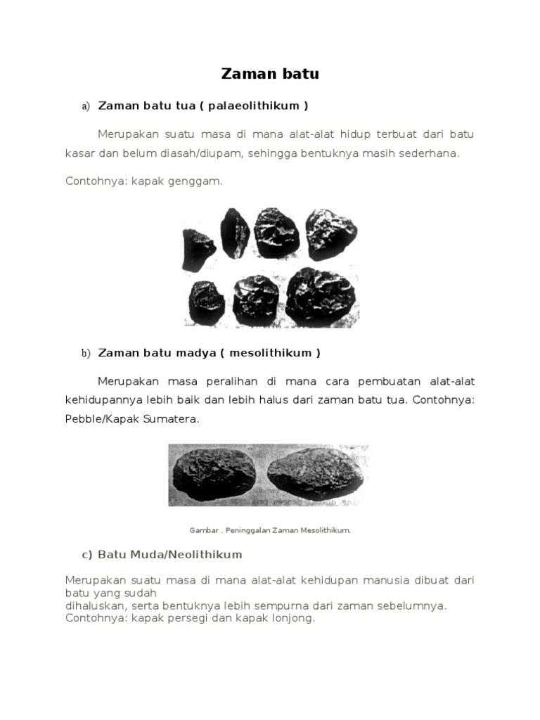 Zaman Batu