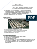 Rejuvenation Process of Telcom_UPS Batteries