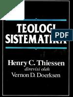 Henry-Theissen -Teologi-Sistematika