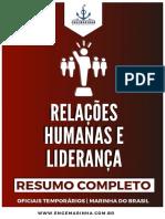 [Resumo] Relações Humanas e Liderança _ Engemarinha